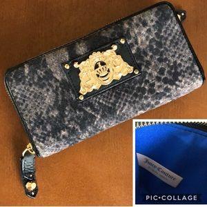 Juicy Couture CIARA Wild Things Snakeskin Wallet